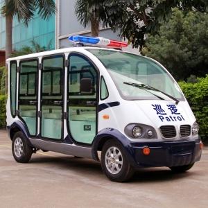 六座封闭式电动巡逻车