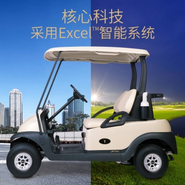 两座高尔夫球车