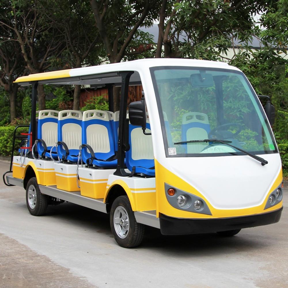 豪华14座景区电动游览观光车