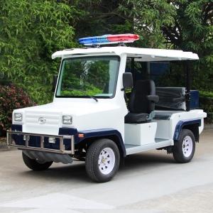 悍马款两排座电动巡逻车