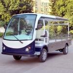 承载1.2吨单排座全顶电动载货车