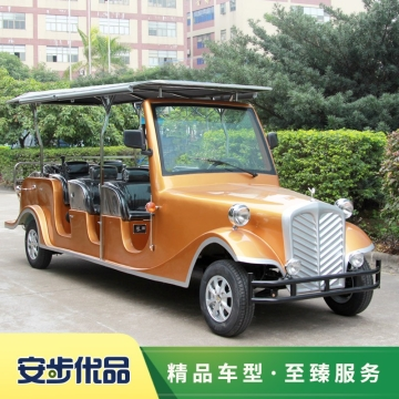 酒店迎宾老爷车,看楼老爷车,观光老爷车,游览观光车,八座电动迎宾老爷车