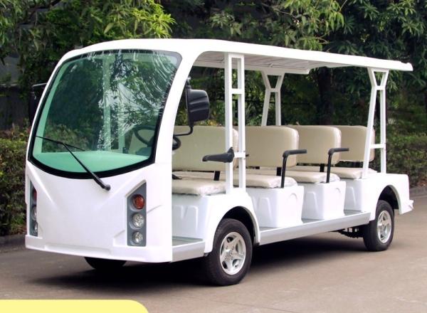 11座电动观光车,电动看楼观光车,电瓶摆渡车,社区便民服务车