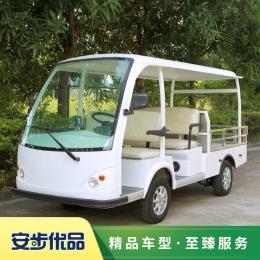 五座电动载货车,两排座电动工程车,电动平板车,工厂搬运车
