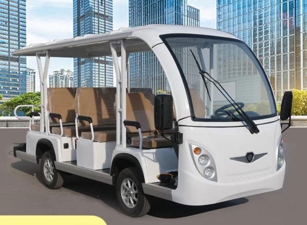 新款注塑11座电动观光车.塑料件电动观光车,纯电动旅游观光车,电动看楼观光车,景区观光车