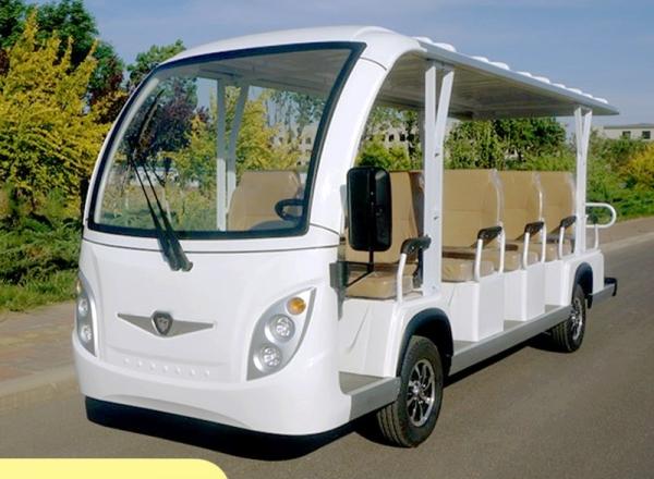 新款注塑14座电动观光车,纯电动旅游观光车,电瓶摆渡车,景区电动游览车,社区便民服务车
